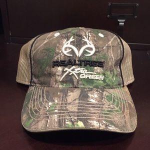 Real tree Xtra Green Camo Hat